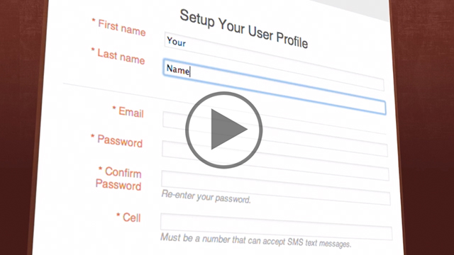 Signup – Animation Video Project Example