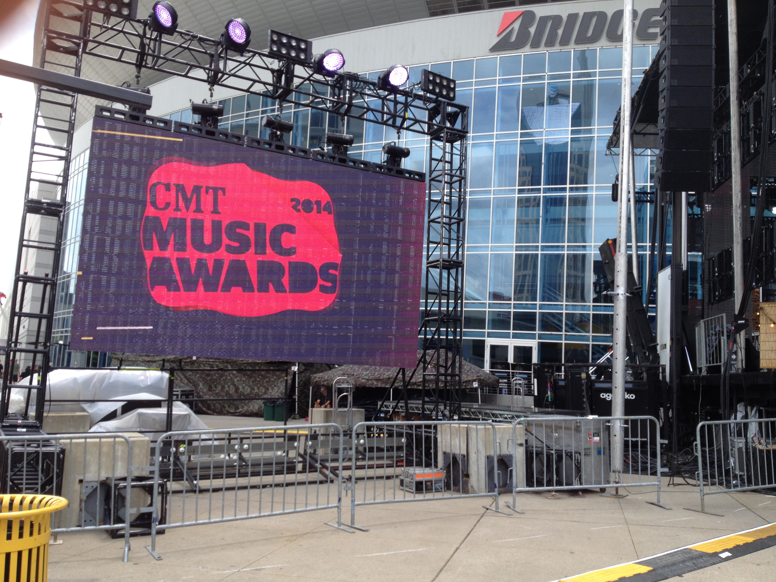 CMT Music Awards & CMA Fest Red Carpet Video Production Crew