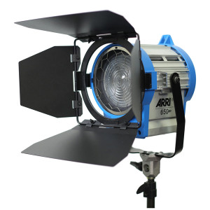 Corporate video production lighting arri 650