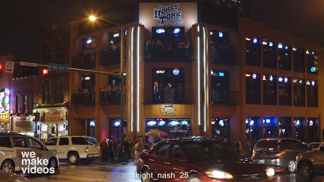 Honkey Tonk Central bar at Night