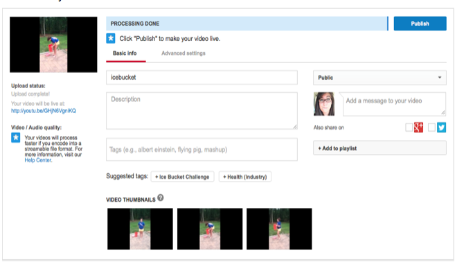 keyword tagging your youtube video