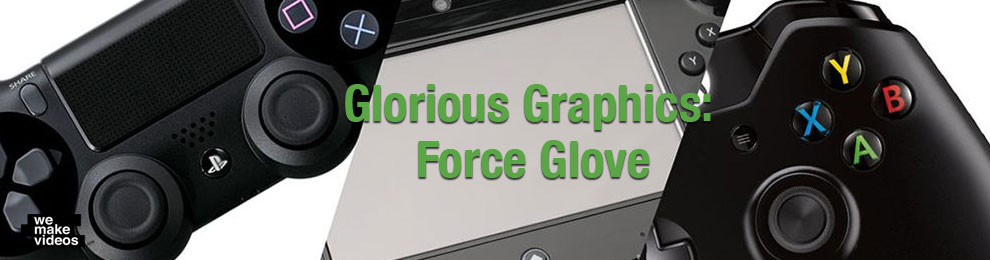 A Motion Graphics Masterpiece : Force Glove