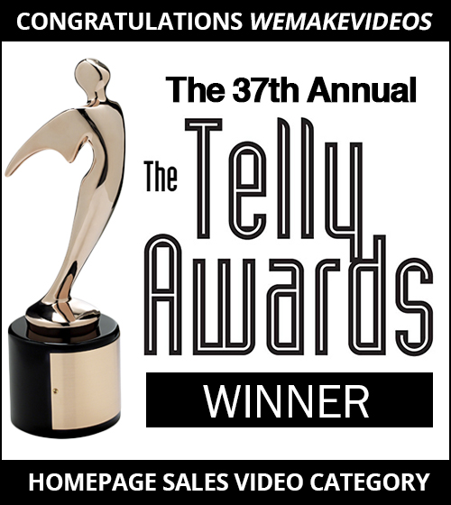 Telly Awards Winner for Video Excellence We Make Videos Nashville, TN