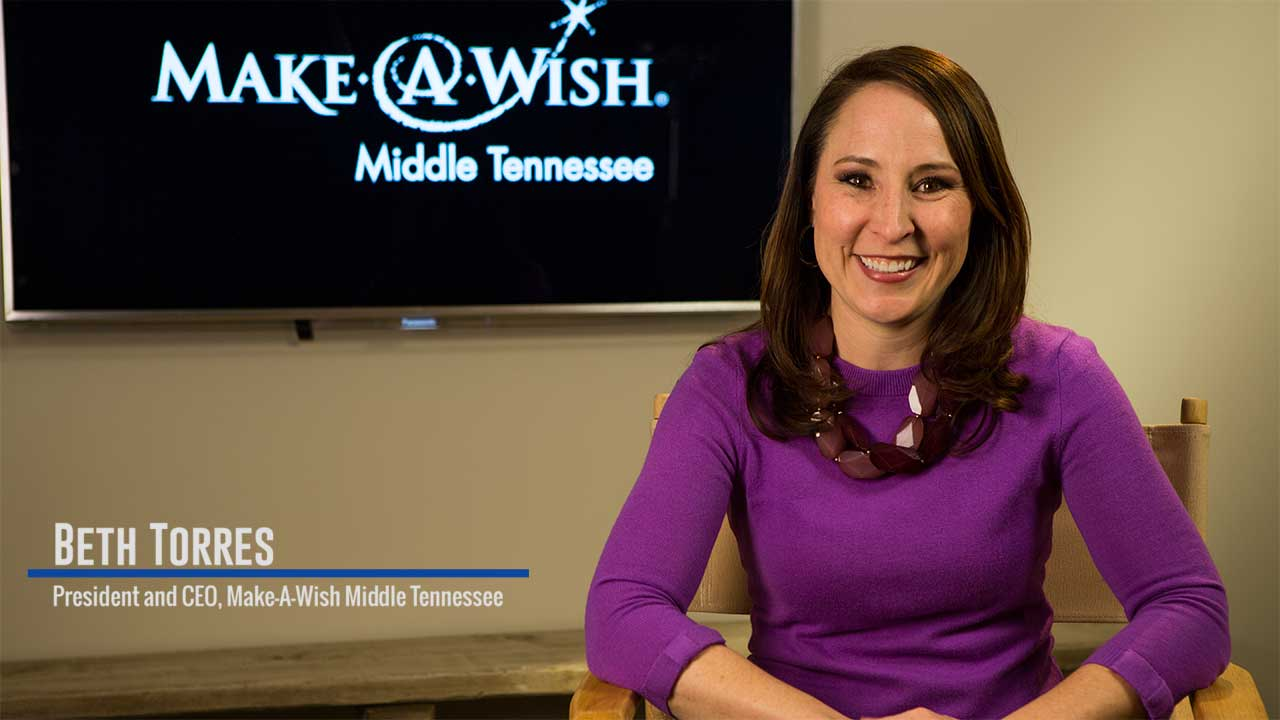 CEO of Make a Wish Foundation - Middle Tennessee