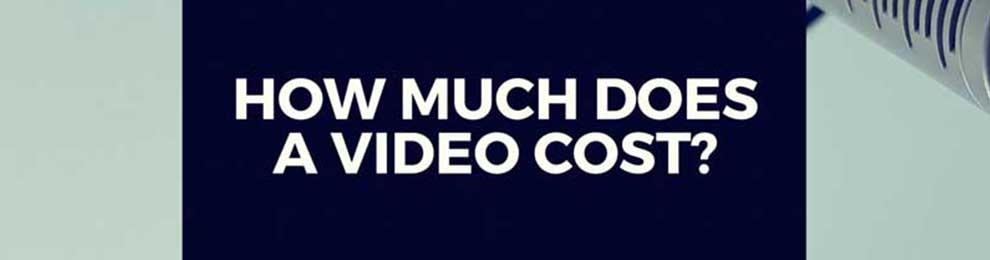 "screen capture of video displaying the words ""how much does a video cost?"""