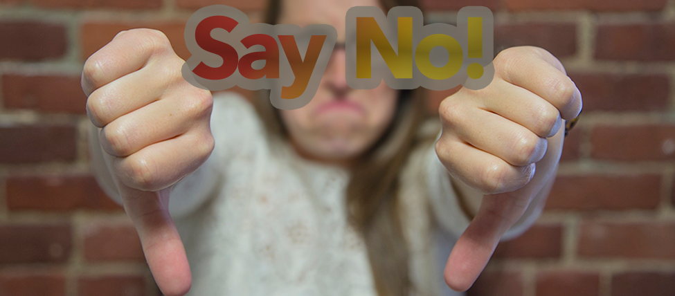 Say No - 3 Simple Ways to Establish Your Brand