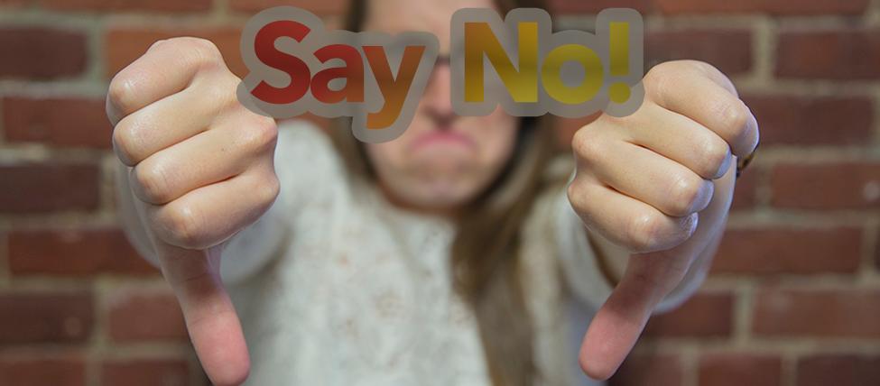 Say No - 3 Simple Ways to Establish Your Brand