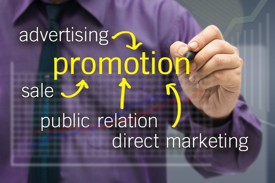image of man connecting a sales funnel to a promo video