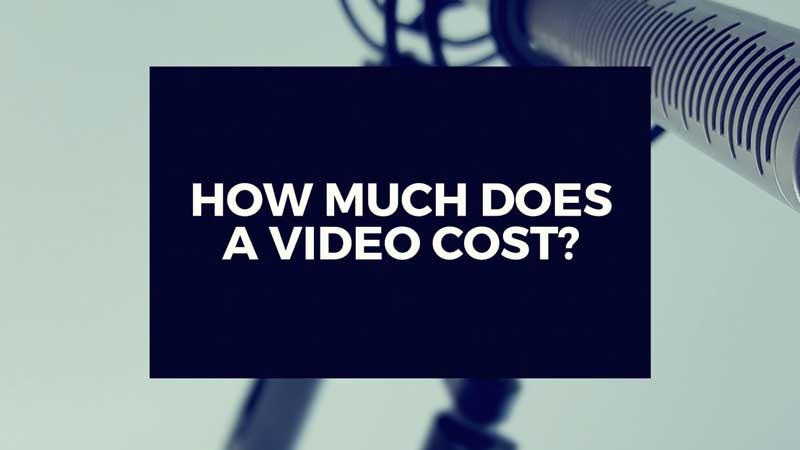 "image with ""How much does a video cost"" linking to answer"