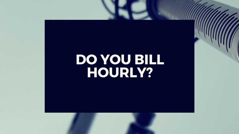 "Image linking to ""Do You Bill Hourly?"" Video"