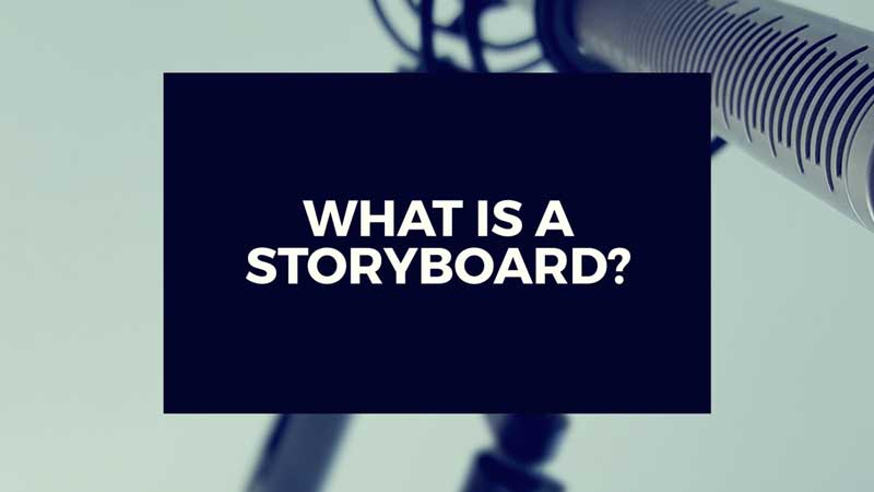 "image with text"" What is a storyboard? Short answers to video production questions."""