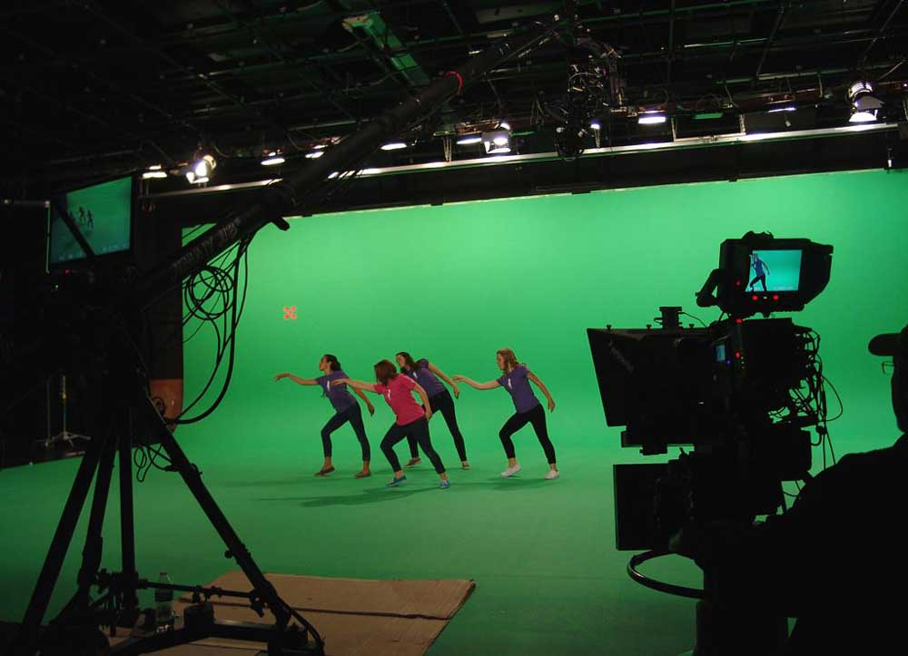 Photo of Huge Green Screen