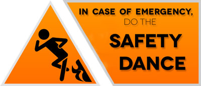 Picture of safety training video production stick figure